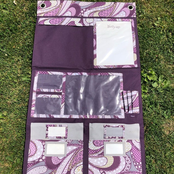 💖HP💖 Hang-Up Home Organizer in Patchwork Paisley
